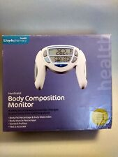 Hand Held Body Composition Monitor Lloyds Pharmacy