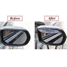 2x Car Rear View Wing Mirror Black Sun Visor Shield Rain Board Eyebrow Guard
