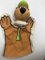Vintage Yogi Bear Hand Puppet 1980 Hanna Barbera Productions