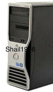 Dell Precision T3500, Intel CPU W3565,3.20Mhz,10GB Ram,ITB HDD, Nvidia QU 2000