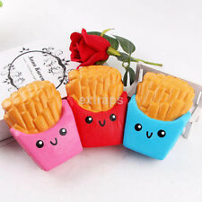 12CM Rare Squishies Carton French Fries Cream Jumbo Squishy Children Toy US