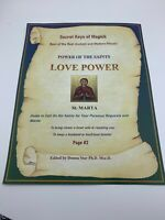 Book of Shadows LOVE POWER- RECONCILIATION Spell Best Spells Magick