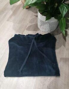 Hush hoodie navy blue Velvet  Size L 14 - 16