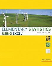 Elementary Statistics Using Excel (4th Edition), Triola, Mario F., Acceptable Bo