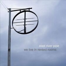 We Live in Rented Rooms [Digipak] * by East River Pipe (CD, Feb-2011, Merge)