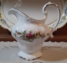 Replacement China. Johann Haviland Creamer in Moss Rose (Thailand Traditions)