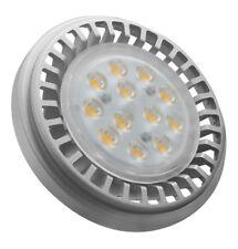 5x Crompton Ampoule LED Ar111 12v 12.5w 30 Degrés 3000k Blanc Chaud Retrofit G53