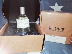 Le Labo SANTAL 33 Eau De Parfum 3.4 oz/unisex/100ml/new with box