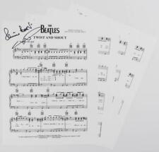 "Pete Best THE BEATLES Signed Autograph ""Twist & Shout"" Sheet Music"
