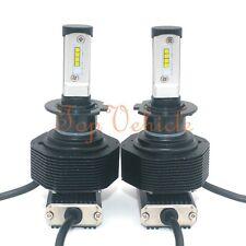 280W 28000LM CREE LED Headlight Conversion Kit H7 6000K Xenon White Bulbs Pair