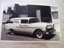 1956 CHEVROLET  SEDAN DELIVERY  11 X 17  PHOTO  PICTURE