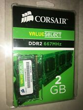 Corsair VS2GSDS667D2 G 2GB DDR2 667Mhz Laptop Memory RAM Unopened