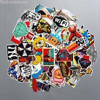 200 Stück Graffiti Sticker Vinyl Aufkleber Skateboard Snowboard Laptop Stickers