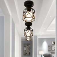 Flush Mount Ceiling Lights Black Chandelier Lighting Kitchen Lamp Pendant Light