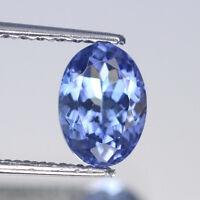 7x5mm Lot 1,2,6,10pcs Oval Cut Calibrated Natural Gem Violet Blue Tanzanite