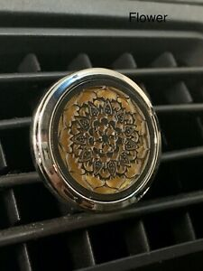 AIR VENT CAR DIFFUSER aromatherapy (Flower) ad essential oil sent from Australia