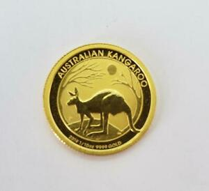2019 Australia 1/10th .9999 GOLD $15 Kangaroo Coin BU+ loose L9676