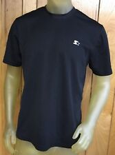 Starter Dry-Star Mens T-Shirt Black Wicking Athletic Short Sleeve Crew Size M  a