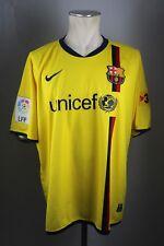 FC Barcelona Trikot 2008-09 Gr. XL Jersey maglia Away Unicef Nike Shirt