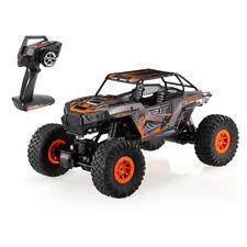 Wltoys 2.4G 4WD 1:10 Electric RC Off-Road Rock Crawler Climbing Buggy Car Orange