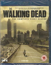 THE WALKING DEAD - Complete 1st Series (NEW/SEALED Blu-ray 2-Disc BOX SET 2011)