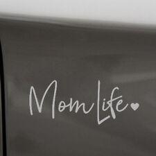 1x Unique Reflective Beauty Mom Life Car Sticker PET Bumper Walls Laptop Decal