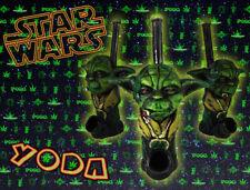 *New* Handmade Star Wars Yoda Tobacco Smoking Resin Pipe *Free US Shipping*