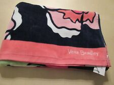 """Vera Bradley Large 33"""" x 66"""" Beach Towel Toucan Party Print New With Tag"""