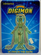 DIGITAL DIGIMON MONSTERS VTG 1999 ANGEWOMON WALL STICKER GLOWS IN THE DARK MOSC