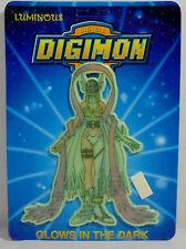 DIGITAL DIGIMON MONSTERS VTG 1999 ANGEWOMON WALL STICKER GLOWS IN THE DARK MOSC