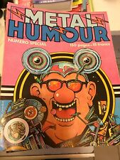 Mag BD  METAL HURLANT  spécial humour