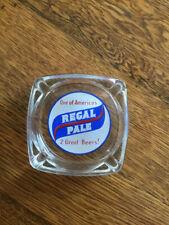 Vintage Advertising Beer Ashtray Regal Pale Beer