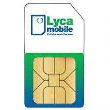Registriert 10 x Lyca Mobile Prepaid Simkarte+2,50€ Startguthaben  ANONYM