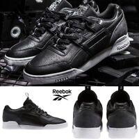 Reebok Classic Workout Plus IT Shoes Sneakers Black White BS6213 SZ 4-12.5