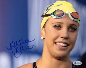 KATHLEEN BAKER SIGNED AUTOGRAPHED 8x10 PHOTO OLYMPIC SWIMMING LEGEND BECKETT BAS