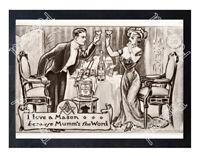 Historic Mumm Champagne 1900s Advertising Postcard