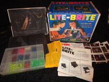 "Vintage ORIGINAL 1967 ""LITE BRITE"" Hasbro Toy Light Bright - FREE SHIPPING"