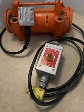 Vibco Us-900 115 V Electric Vibrator, Speed Adjuster & Foot Switch