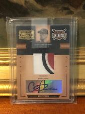2005 PRIME PATCHES CLIFF LEE TEAM LOGO PATCH AUTO 131/140