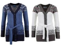Cardigan Long Pullover Maglia Donna ROCK ANGEL  D9002N90033ARS-B212 Tg S M L   *