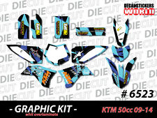 *NEW* GRAPHIC KIT 2009-2014 KTM 50cc 50 cc  DECAL STICKER GRAPHICS 6523