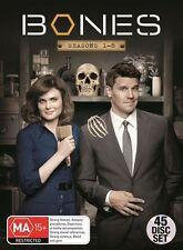 Bones : Season 1-8 (DVD, 2013, 45-Disc Set)
