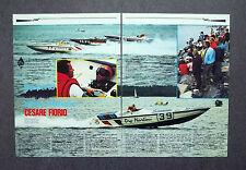 AG98 - Clipping-Ritaglio -1981- CESARE FIORIO , DRY MARTINI