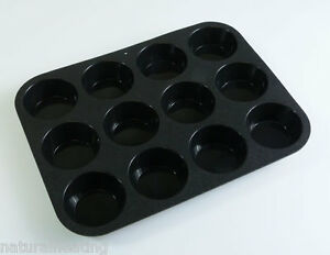 12 cell Muffin Mince Pies Tarts Cupcake Silicone Bakeware Cakes Baking Mould Pan