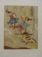 G Rodo Boulanger   (Balancoires) Orginal Lithograph Art S/N