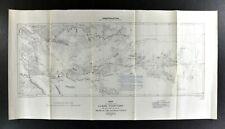 1902 Canada Geological Survey Map Yukon Territory MacMillan Pelly Stewart Rivers