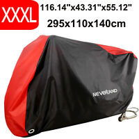XXXL Motorcycle Cover Waterproof For Harley Davidson Heritage Softail Classic
