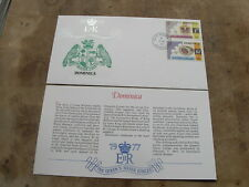 1977 Westminster FDC -Queen's Silver Jubilee / Royalty - Dominica