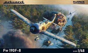 Eduard 1/48 Model Kit 82139 Focke-Wulf Fw-190F-8 Profipack