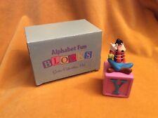 Disney Alphabet Fun Blocks Winnie the Pooh and Piglet Collectible Figurine
